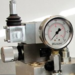 Instruments for monitoring the parameters of hydraulic systems